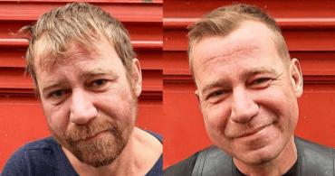 Парикмахер стрижет бездомных, давая им шанс на перемены