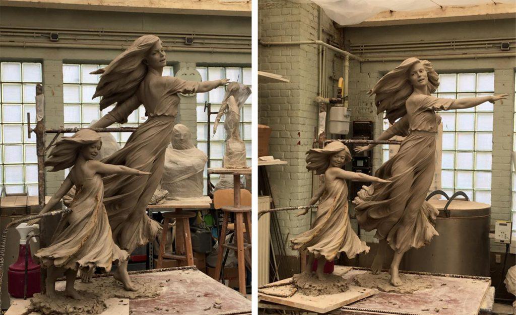 Скульптура Луо Ли Ронг