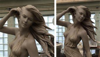 Поразительные скульптуры Луо Ли Ронг. Они как живые!