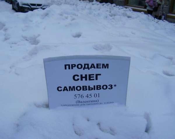 Подборка забавных зимних фото
