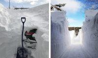 Рекордный снегопад в Канаде. Фото, раскрывающие масштаб бедствия.