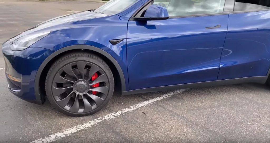 Колесные диски в Tesla Model Y