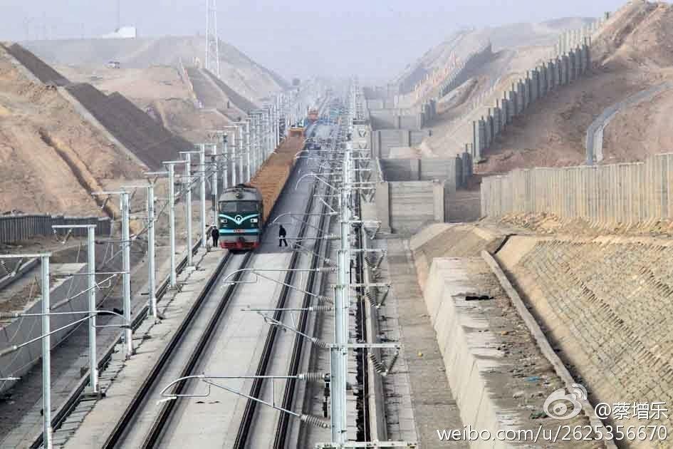 Участок магистрали Ланьчжоу — Урумчи