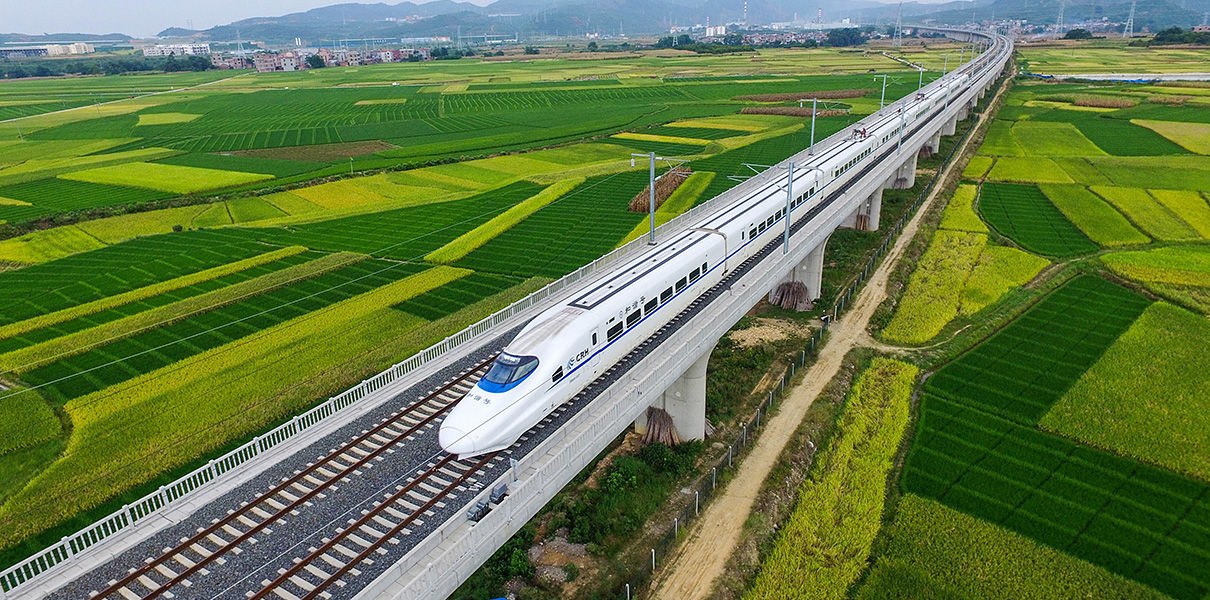 китайские железные дороги