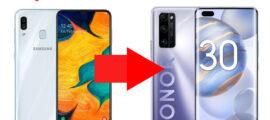 Как перенести контакты с телефона Samsung на Honor - инструкция