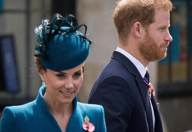 Кейт Мидлтон и принц Гарри
