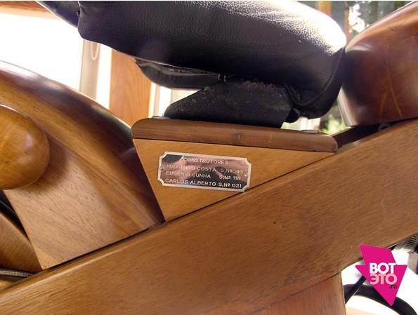 Скутер из дерева