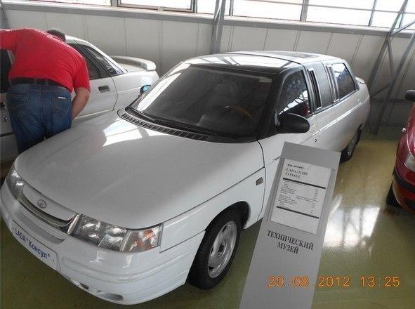 Новая модификация базовой модели ВАЗ-2110