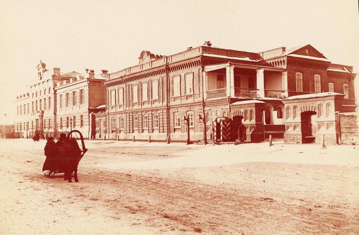 Жилые и служебные помещения губернатора Красноярска