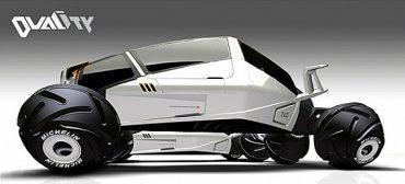 Концепт автомобиля-трансформера Duality