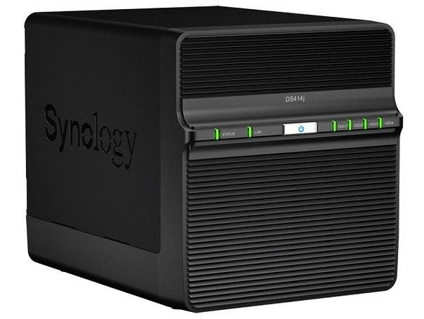 Synology DS414j: доступный 2-ядерный NAS ёмкостью до 20 Тбайт