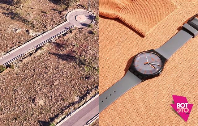 Симметрия дизайна одежды и ландшафта