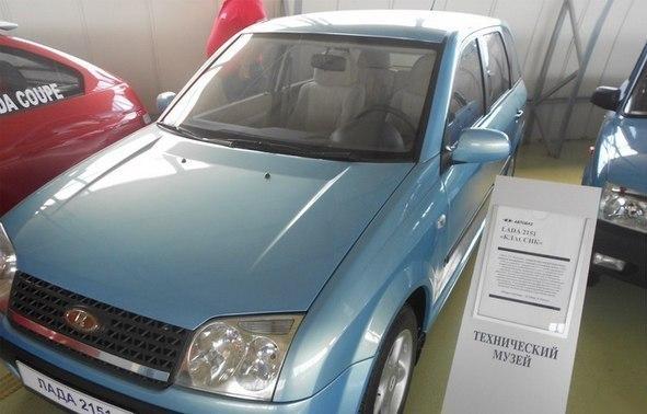 Прототип ВАЗ-2151 (он же «Лада-Классик»)