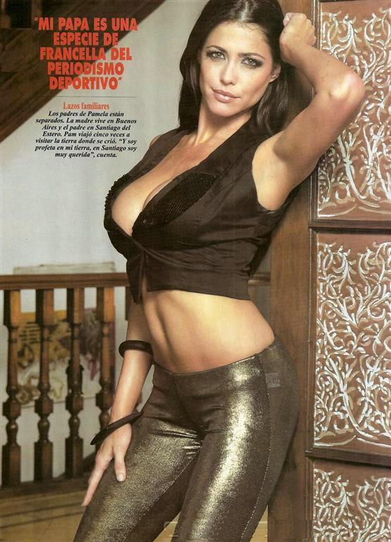 Аргентинская ведущая и модель Памела Дэвид