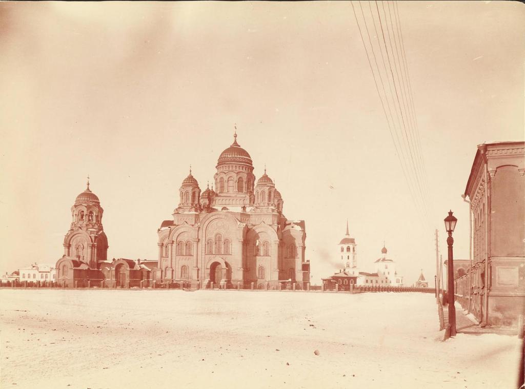 Кафедральный собор в Иркутске