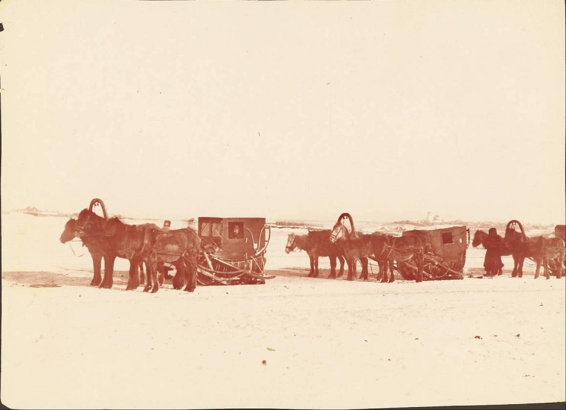 Путешествие по Сибири на санях