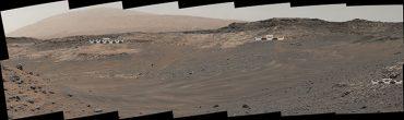 Nasa опубликовало панораму с Марса