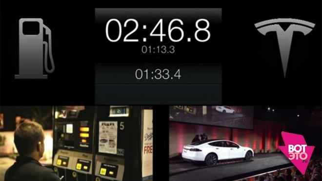 Tesla-S замена батареи