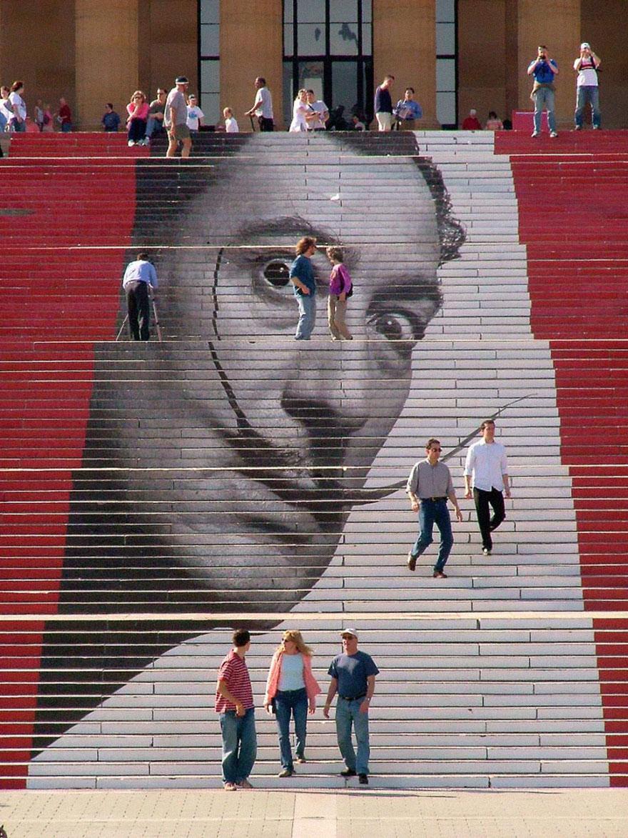 Лестница как произведение искусства