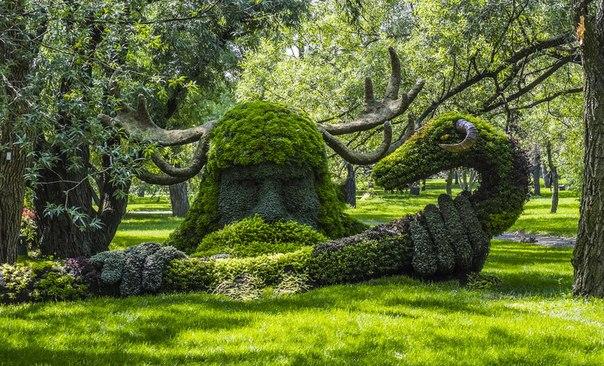 Конкурс садовых скульптур в Монреале