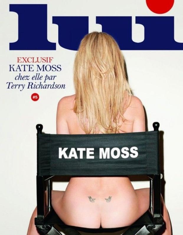 Кейт Мосс для журнала LUI