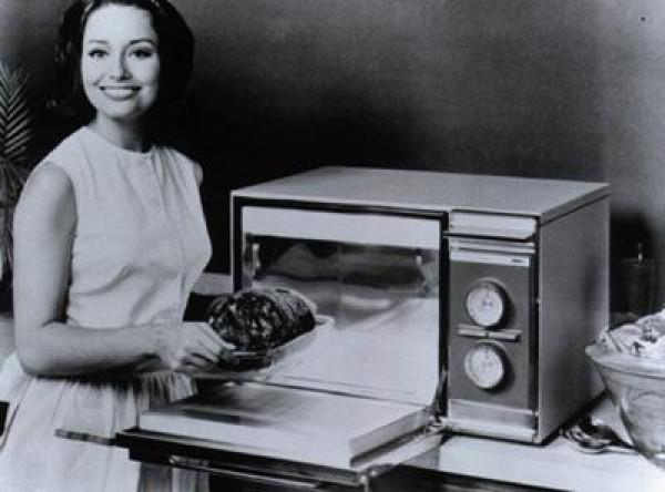 Микроволновка - изобретение женщины