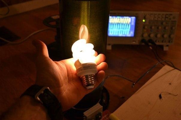 Беспроводное электричество Николы Тесла