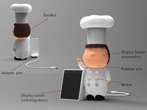 Электронный повар Chef Brown: лучший друг на кухне