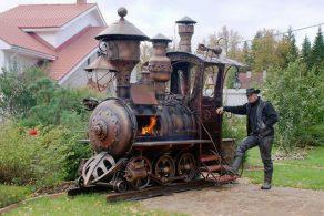 Гриль-локомотив