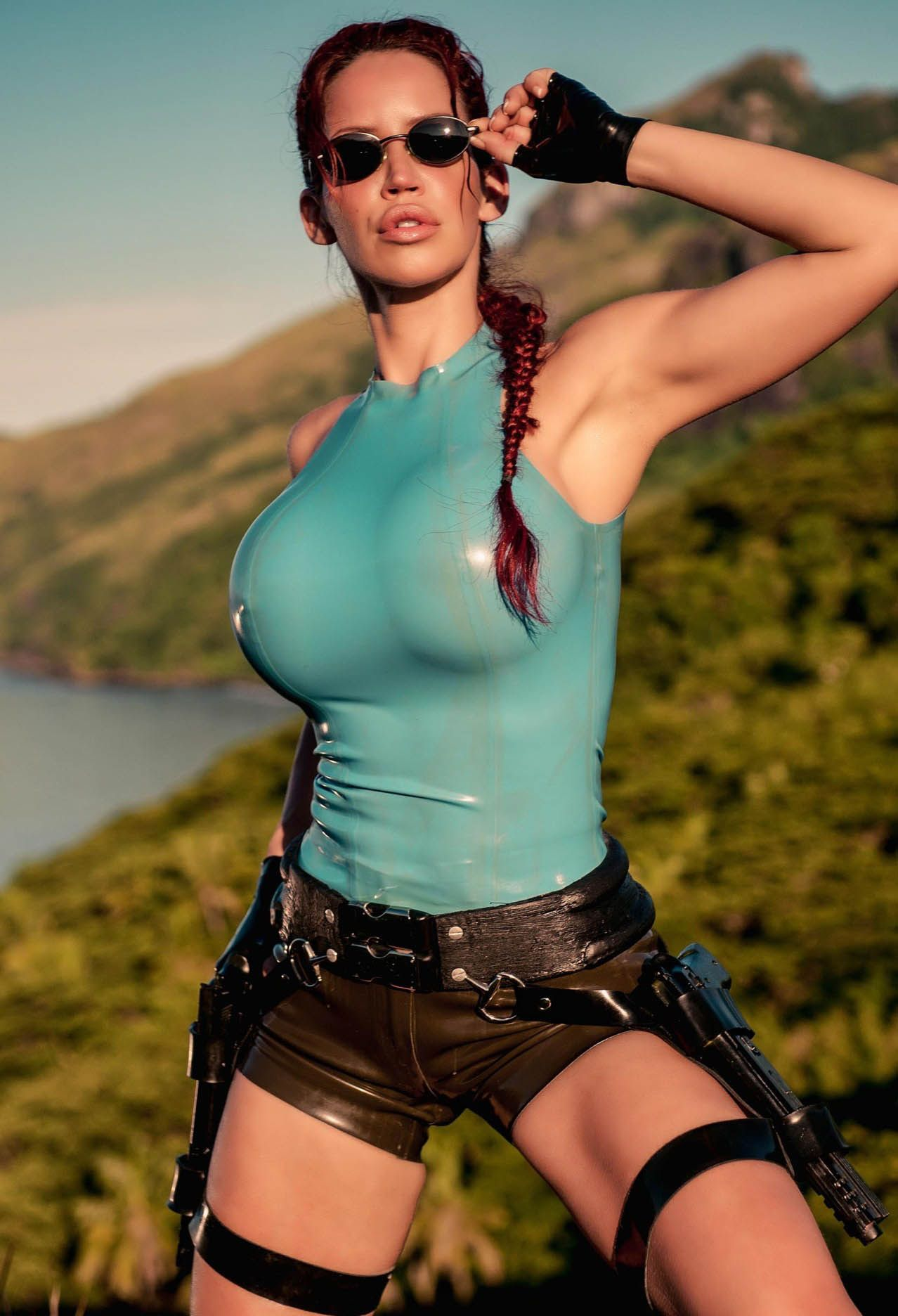 Lara croft underground latex mod sexy download