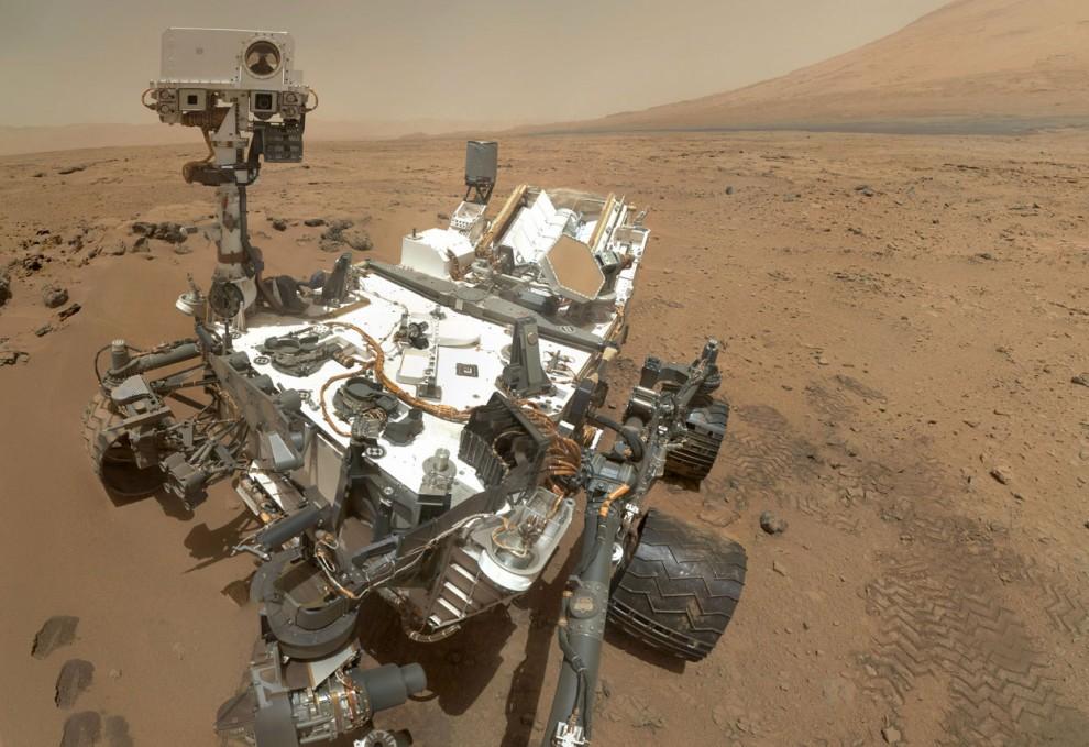 Фото Марса с Curiosity