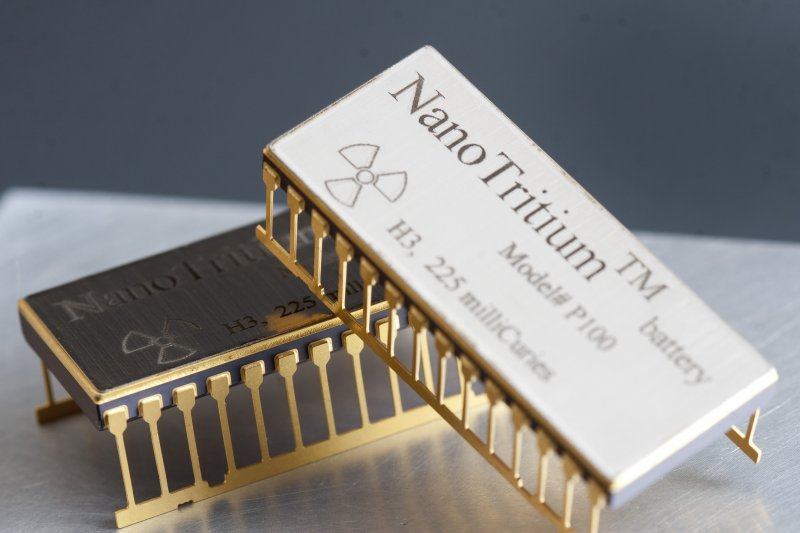 Батареи NanoTritium производства компании City Labs, Inc., Miamy