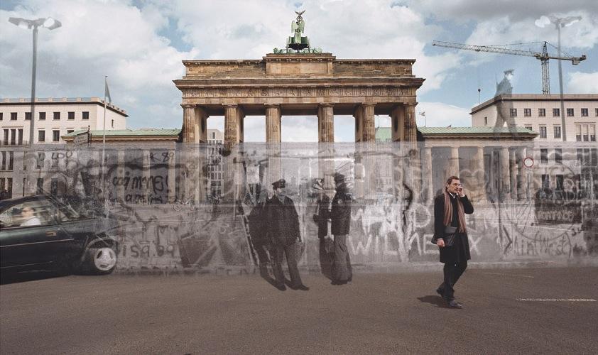На улице, Берлин 1989 г.