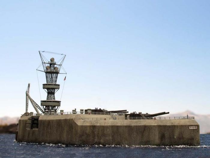 Бетонный линейный корабль