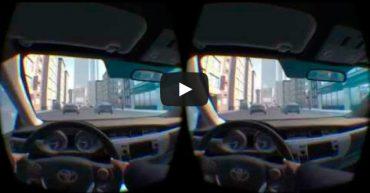 Toyota будет использовать 3D-симулятор для обучения вождению